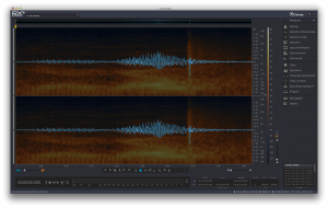 image of the isotope RX3 repairing a wav file