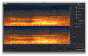 Image of iZotope RX3 stand alone application for audio restoration another key tool in mixing sound for film