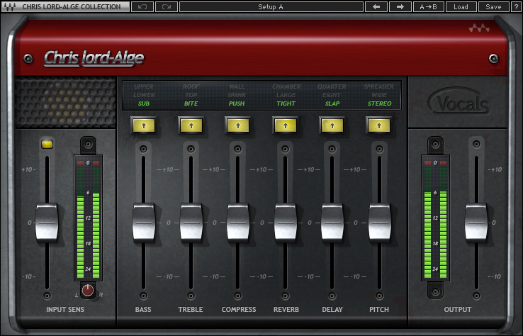 Image of the CLA vocals plugin by Waves.