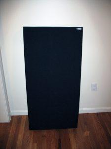 GIK 244 panel unpacked.