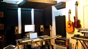 photo of the Beach House Studios control room