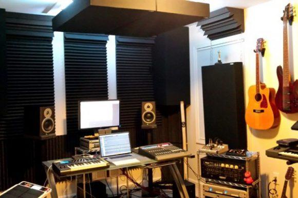 Beach House Studios control room