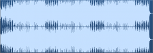What a .wav file looks like when it is mastered and over compressed