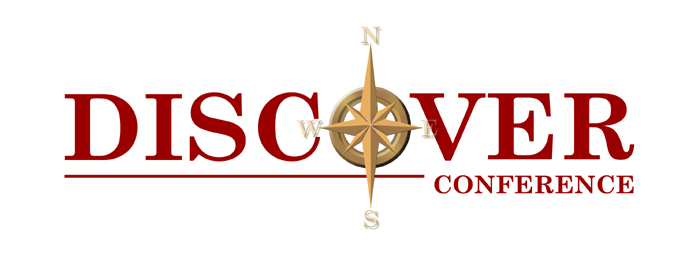 Discover conference logo designed by John Eye