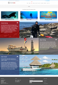East Coast Divers dive tours layout